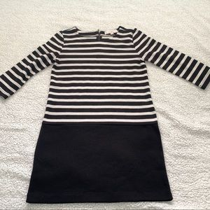 Ann Taylor LOFT Black and White Tunic Top